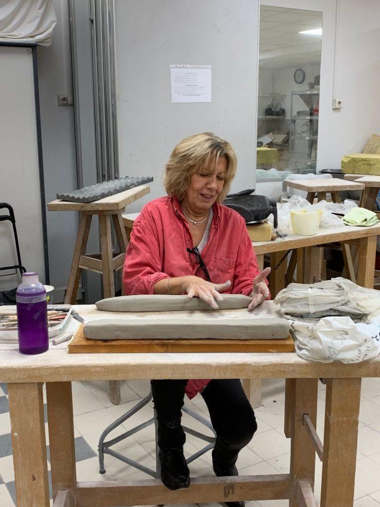 Atelier de l'Ansec ssociation neuilléenne de sculpture et de céramique