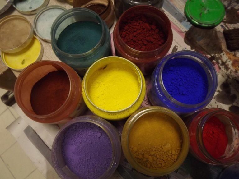 Pigments pour patines